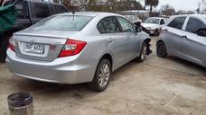 Honda Civic Lxs Año 2014 Chocados Restos Por Partes