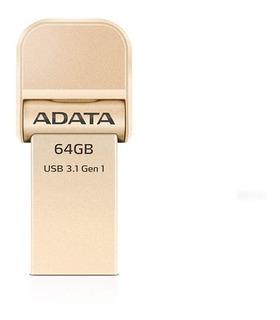 Pen Drive Adata Ai920 64gb Gold Lightning - Tengo Stock -