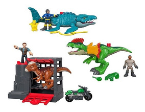 Imaginext Jurassic World Vehículos - Fisher Price Fmx88