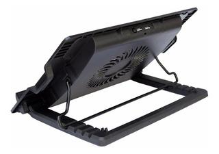 Bandeja Ventilador Fan Cooler Pad Notebook Laptop Negra