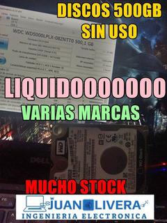 Disco Duro 500gb 2.5 Notebook Nuevos Oem Pc Ps4 Grtia 1 Año