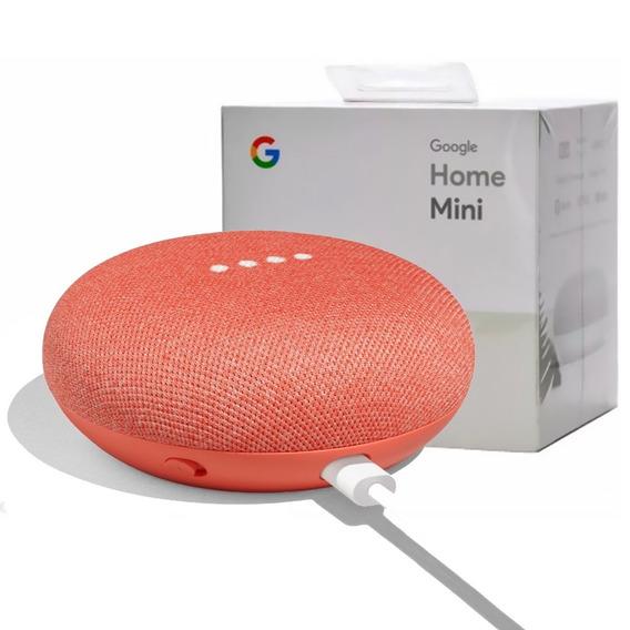 Google Home Mini Parlante Asistente Inteligente Con Wifi P M