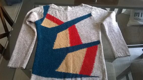 Sweter De Dame Lana Tipo Boucle Talle S De Mar Del Plata Arg