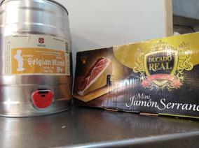 Pata Jamón+cuchillo+cerveza Artesanal - El Novillo Alegre.