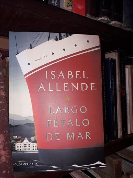 Isabel Allende Largo Pétalo De Mar Nuevo Super Oferta!!!!