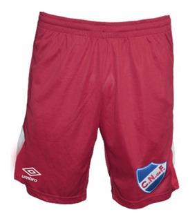 Short Bermuda De Nacional Umbro Original Tricolor Mvd Sport
