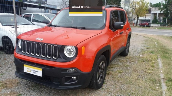 Jeep Renegade 1.8 Sport Flex 5p 1.8 2017 Impecable!