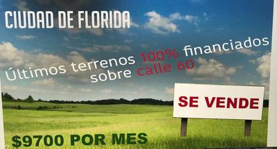 Terrenos Financiados En Ciudad De Florida
