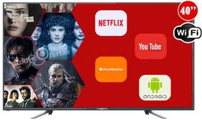 Smart Tv Led Punktal 40 Usb Hd Wifi Netflix Youtube Y Mas