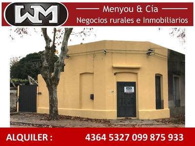 Alquiler Casa Trinidad Flores 2 Dormitorios Inmobilia Menyou
