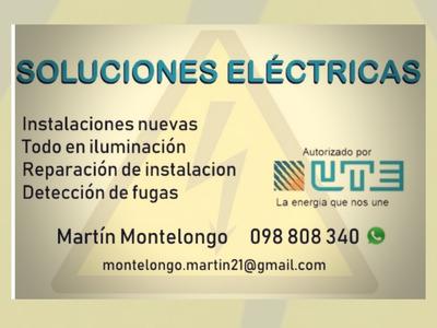 Electricista A Domicilio Técnico Autorizado Por Ute