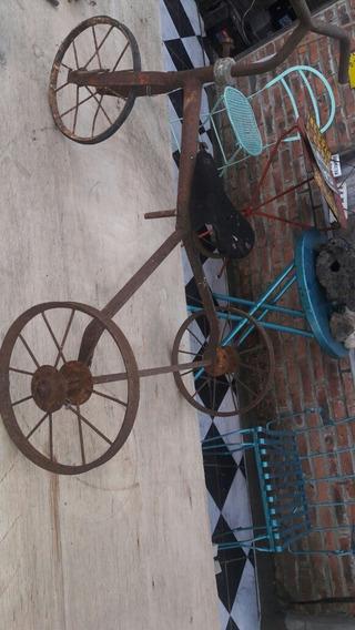 Juguete Triciclo Antiguo Para Restaurar