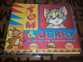 Album De Figuritas Cromy Portezuelo Tom Y Jerry Incompleto