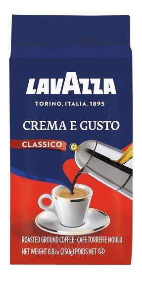 Cafe Lavazza Crema E Gusto 250gr De Maquina Molido Int. 8