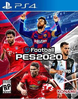 Efootball Pes 2020 Juego Ps4 Original Play 4 + Garantía