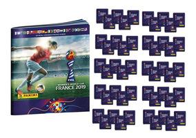 Mundial Futbol Femenino 2019 - 50 Sobres + Album Obsequio