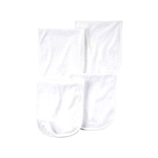 Set Carters Accesorios De Bebes Babitas Lisas Blancas X4