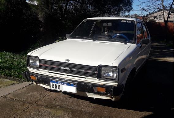 Toyota Starlet ´84. Motor Con 10.000kmt. Patente Paga...