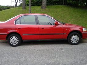 Honda Civic Ex, 5 Puertas, Rojo