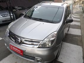 Nissan Livina 2012 Completa Carro De Leilao Recuperado