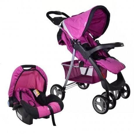 9865d9725 Coches Bebe Con Baby Silla Infanti Pompeya Fucsia Pcm - $ 7.529,00 ...