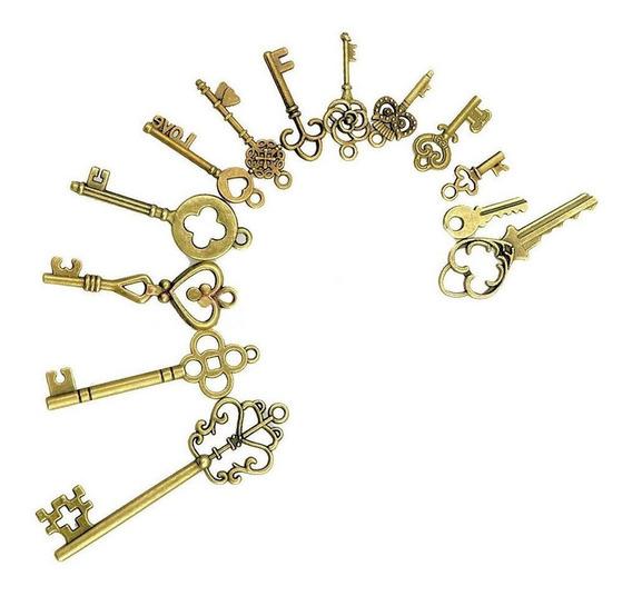 Llaves Antiguas (decoracion Y Coleccion) Pack De 13 Unidades