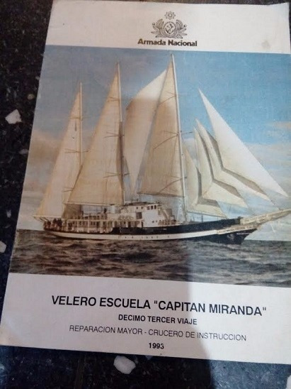 Velero Escuela Capitan Miranda Decimo Terver Viaje