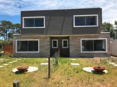 Casa Solymar Sur 3 Dorm,2 Baños.parr/pérgola Fdo.imperdible!