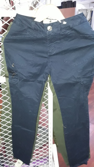 Pantalon Cargo Santa Barbara Spandex De Dama