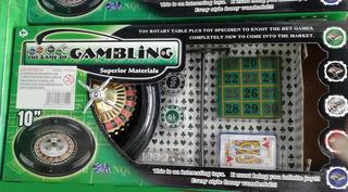 Ruleta Con Paño, Fichas Y Cartas----consultar Stock