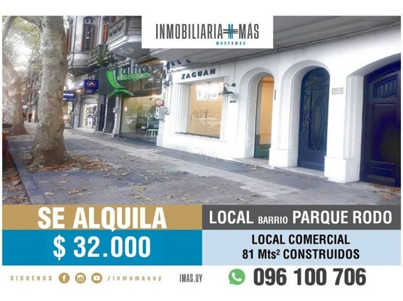 Local Comercial Parque Rodo Montevideo Inmobilaria Mas R *