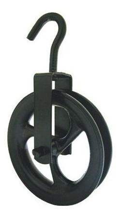 Roldana Con Gancho Diametro 100mm P/150kg - Ynter Industrial