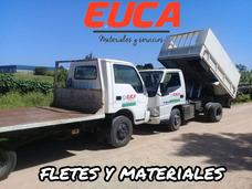Fletes Peones Camion Fletero Camionero Viajes Volcadora