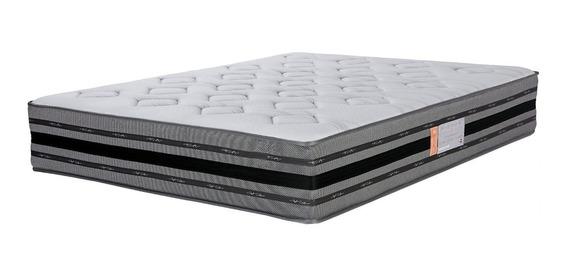 Colchon Queen Resorte Espuma Ortopedico Extra Firme Pillow