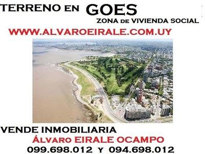 U$s 350.000= Terreno13 X 43 = 550 M2 Gral. Flores Garibaldi