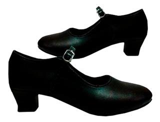 Zapato Zapatilla Baile Flamenco Semiprofesional Mvdsport