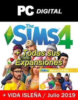 The Sims 4 Pc Español + Expansiones + Vida Isleña Digital