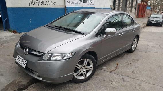 Honda Civic Exs Mt 2008-excelente Estado-único Dueño-cuero