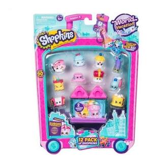 Shopkins - Pack X 12 Europa O Asia