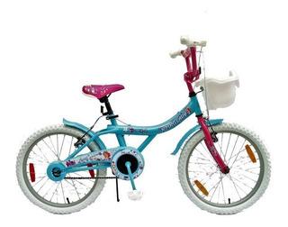 Bicicleta Lady Rodado 20 Niña, Paseo, Rosas Hnos. Mer