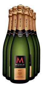 Promo Champaña Mumm Extra Brut 750 Ml X 6 Unidades Por Funda