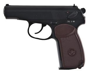Pistola Airsoft 6mm Kwc Modelo Makarov Pm