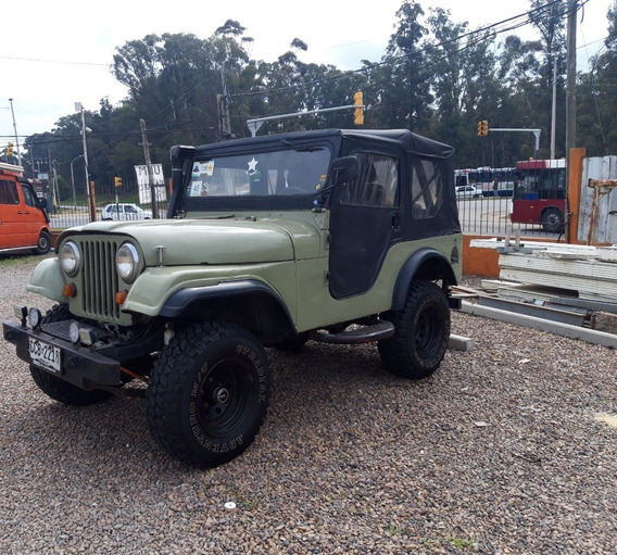 Jeep Willys Cj5 Del 57, Motor Mitsubishi 2.7