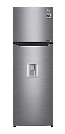 Refrigerador Lg Gt29 272l Inverter Acero Inox Disp Agua Loi