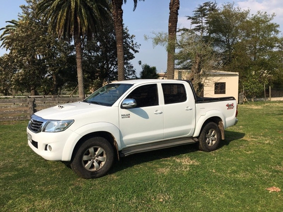 Toyota Hilux 3.0 Cd Srv Tdi 171cv 4x4 4at 2013