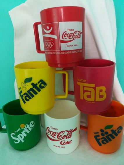 Coleccion Vasos Cocacola Todos A $700