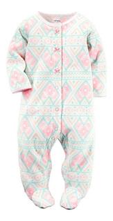 Pijamas Polares Carters Ropa Bebé Y Niña De Rn A 9 M