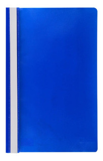Carpeta Tapa Transparente A4 Azul Abba