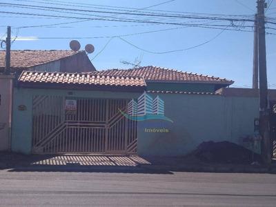 Casa Residencial Para Locação, Parque Ortolândia, Hortolândia. - Ca0163