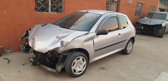 Peugeot 206 1.4 Año 2000 Chocado Entero O Por Partes